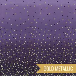 Ombre Confetti Metallic in Aubergine