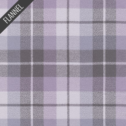 Mammoth Organic Madras Flannel in Lavender