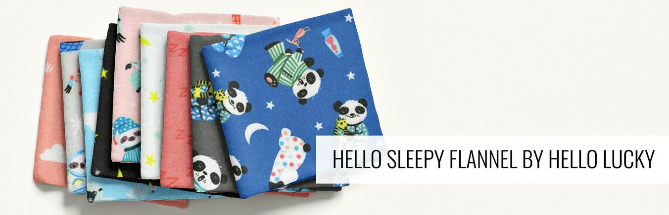 Hello Sleepy Flannel by Hello Lucky