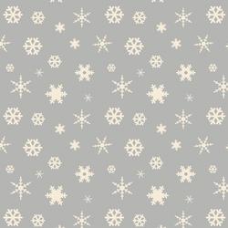 Winter Snowfall in Gray