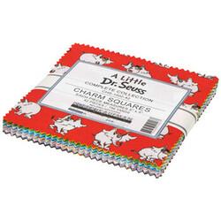 """A Little Dr. Seuss 5"""" Square Pack"""