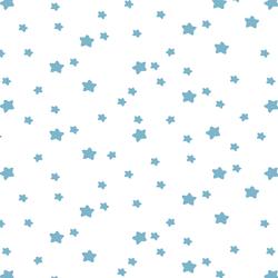 Star Light in Surf on White