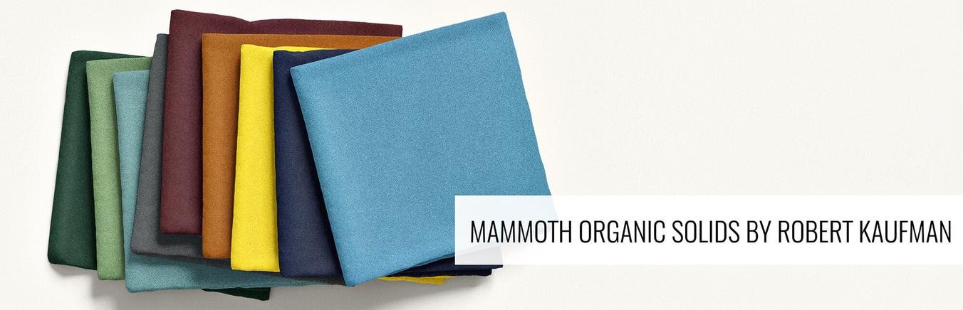 Mammoth Organic Solids by Robert Kaufman
