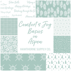 Comfort and Joy Basics Fat Quarter Bundle in Aspen