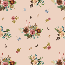Fall Floral in Shell