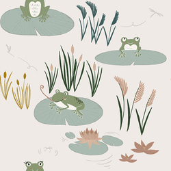 Here Little Froggy in Grass
