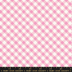 Painted Gingham in Orchid