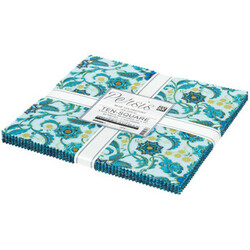 """Persis 10"""" Squares in Blue Colorstory"""