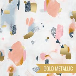 Pastel Parade in Peachy Metallic