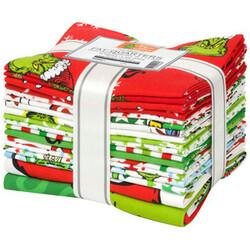 How The Grinch Stole Christmas Fat Quarter Bundle in 2021 Palette