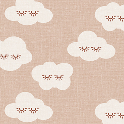 Sleepy Clouds in Blush