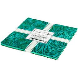 """Forest Glen Artisan Batiks 10"""" Square Pack"""