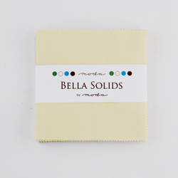 Bella Solids Charm Pack in Fig Tree