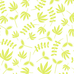 Needle Turn Leaves in Lime Green