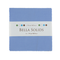Bella Solids Charm Pack in Light Blue