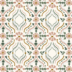 Painted Damask in Cloud