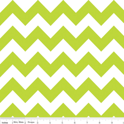 Medium Chevron in Lime