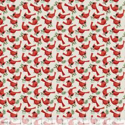 Redbirds in Putty