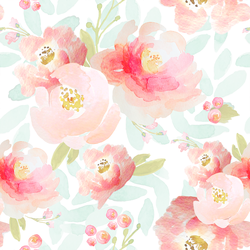Plush Floral in Sweet Pea