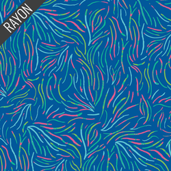 Playful Seaweed Rayon in Nightglow