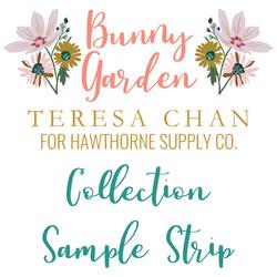 Bunny Garden Sample Strip