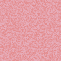 Floral Marks in Coral Pink