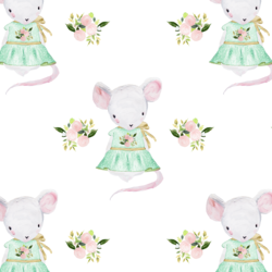 Little Lila the Mouse in Spring