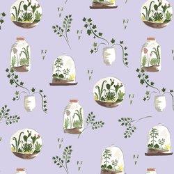 Terrarium in Lavender
