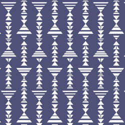 Little Tribal Stripe in Indigo