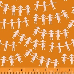 Paper Dolls in Orange