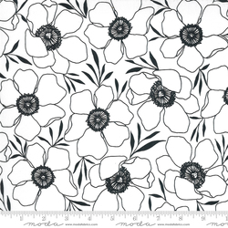Moody Florals in Paper