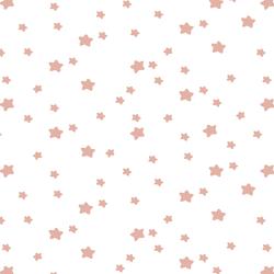 Star Light in Quartz on White