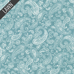 New Paisley in Blue