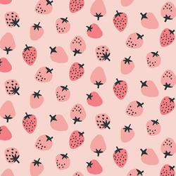 Strawberries in Pink Sugar