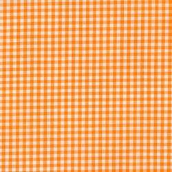 Tiny Carolina Gingham in Orange