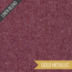 Essex Yarn Dyed Metallic in Burgundy