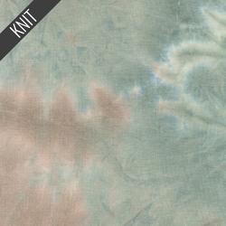 Sunset Tie Dye in Beige Mauve & Blue
