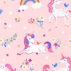 Happy Little Unicorns in Pink