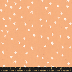 Starry in Warm Peach Unbleached