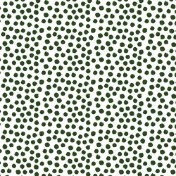 Painted Dot in Wintergreen on White