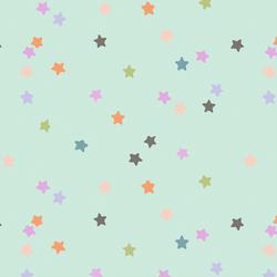 Rainbow Stars in Minty