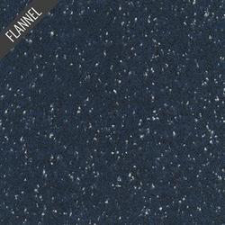 Shetland Speckle Flannel in Navy