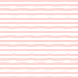 Painted Stripes in Meringue Pink