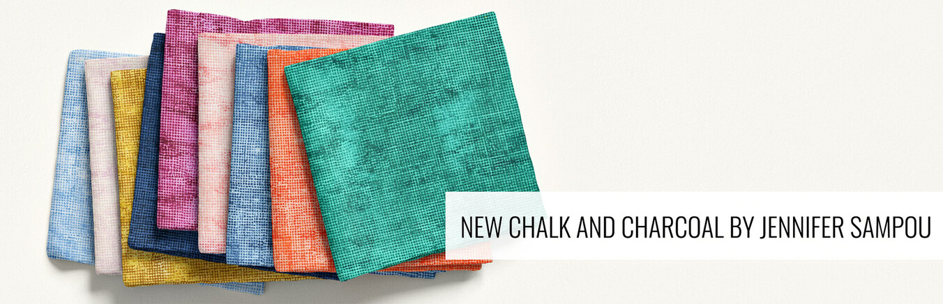 New Chalk and Charcoal by Jennifer Sampou