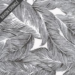 Leaf Crinkle in Black