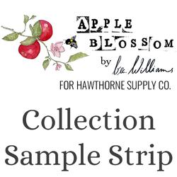 Apple Blossom Sample Strip