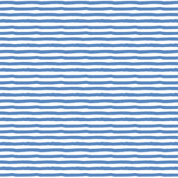 Painted Stripe in Blue
