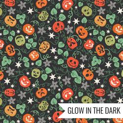 Spooky Pumpkins in Black