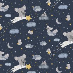 Shooting Stars in Midnight