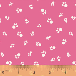 Cat Paws in Fuchsia